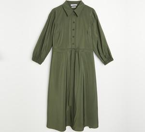 Sukienka Reserved z długim rękawem szmizjerka mini