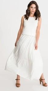 Sukienka Studio Erer maxi z okrągłym dekoltem
