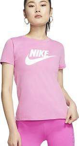 Bluzka Nike z krótkim rękawem z bawełny