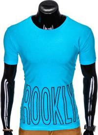 T-shirt Ombre Clothing z krótkim rękawem w młodzieżowym stylu