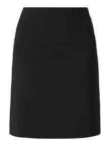 Czarna spódnica Hugo Boss midi z wełny
