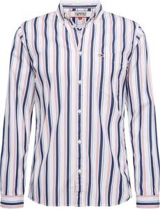 Koszula Tommy Hilfiger z klasycznym kołnierzykiem z bawełny w stylu casual