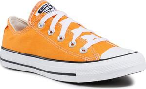 Trampki Converse z płaską podeszwą niskie