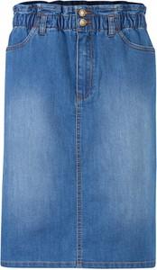 Niebieska spódnica bonprix w stylu casual mini