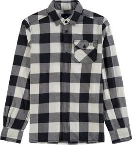Koszula dziecięca Tom Tailor z bawełny w krateczkę dla chłopców