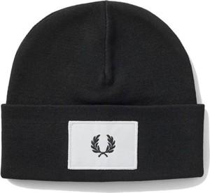 Czarna czapka Fred Perry