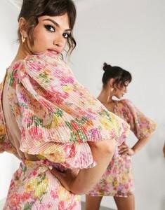 Sukienka Asos z długim rękawem w stylu casual mini