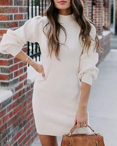 Sukienka Kendallme z okrągłym dekoltem mini w stylu casual