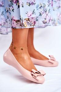 Baleriny Zaxy z płaską podeszwą w stylu casual