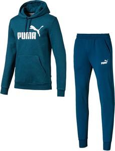 Niebieski dres Puma z dresówki