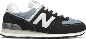 Buty sportowe New Balance w sportowym stylu z zamszu