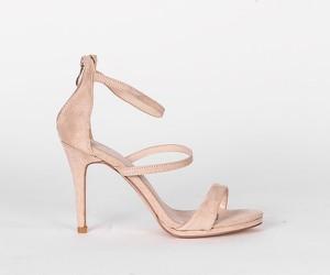 Różowe sandały HERS.pl ze skóry