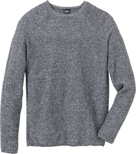 Srebrny sweter bonprix bpc bonprix collection