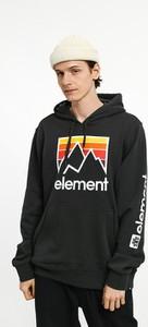 Czarna bluza Element z nadrukiem