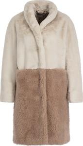 Brązowy płaszcz Marella