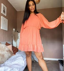 Sukienka Asos z tkaniny