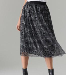 Granatowa spódnica Mohito