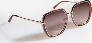 Różowe okulary damskie Reserved