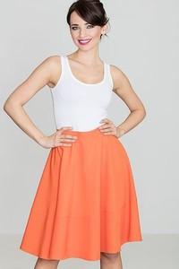 Pomarańczowa spódnica LENITIF