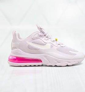 Buty sportowe Nike z płaską podeszwą air max 270 ze skóry