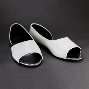 Sandały Esclusivo.pl z płaską podeszwą