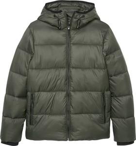Zielona kurtka dziecięca Marc O'Polo Junior dla chłopców