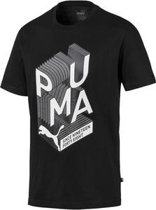 T-shirt Puma w młodzieżowym stylu z nadrukiem