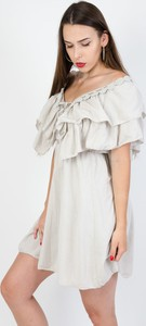 Sukienka Olika mini z krótkim rękawem