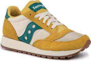 Sneakersy Saucony na platformie sznurowane