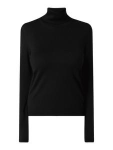 Czarny sweter Hugo Boss w stylu casual z wełny