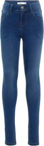 Niebieskie spodnie dziecięce Name it