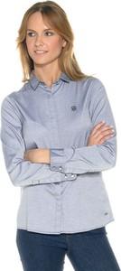 Koszula Tommy Hilfiger z kołnierzykiem z długim rękawem