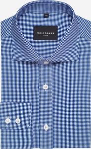 Koszula Wólczanka z bawełny w stylu casual