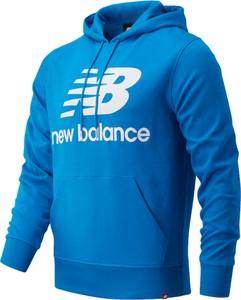 Niebieski sweter New Balance z bawełny