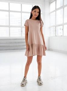 Sukienka SELFIEROOM mini z krótkim rękawem z bawełny