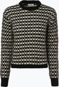 Czarny sweter Minimum z moheru w stylu casual