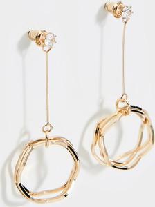 Mohito - Wiszące kolczyki z cyrkonią - Złoty