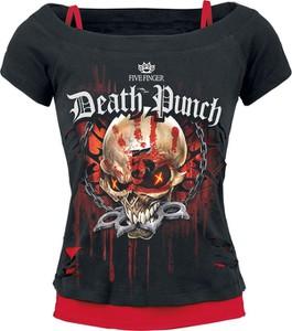 T-shirt Five Finger Death Punch z bawełny