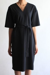 Granatowa sukienka True Color By Ann midi