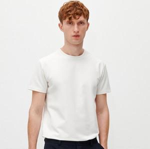 T-shirt Reserved z krótkim rękawem w stylu casual
