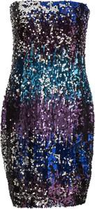 Sukienka bonprix BODYFLIRT boutique bez rękawów w stylu glamour