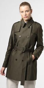 Zielony płaszcz Esprit w stylu casual