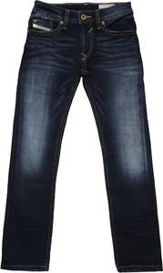 Granatowe spodnie dziecięce Diesel