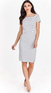 Sukienka Bergamo z krótkim rękawem mini