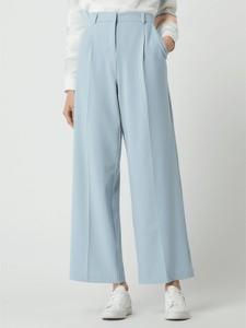 Niebieskie spodnie Vero Moda w stylu retro