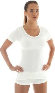 Termoaktywna koszulka damska z krótkim rękawem Brubeck Comfort Wool SS11020