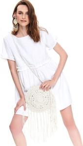 Sukienka Top Secret z okrągłym dekoltem w stylu casual