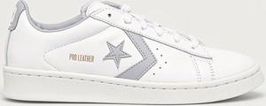 Buty sportowe Converse sznurowane ze skóry