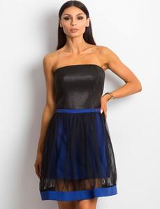 Sukienka Sheandher.pl mini bez rękawów gorsetowa