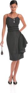 Sukienka Fokus midi asymetryczna
